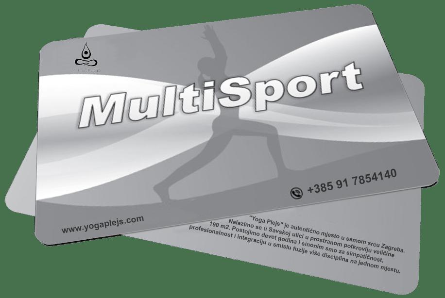 Multisport Kartica